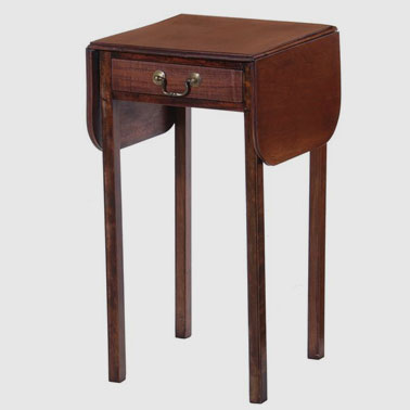CHT184 SMALL DROP LEAF SIDE TABLE